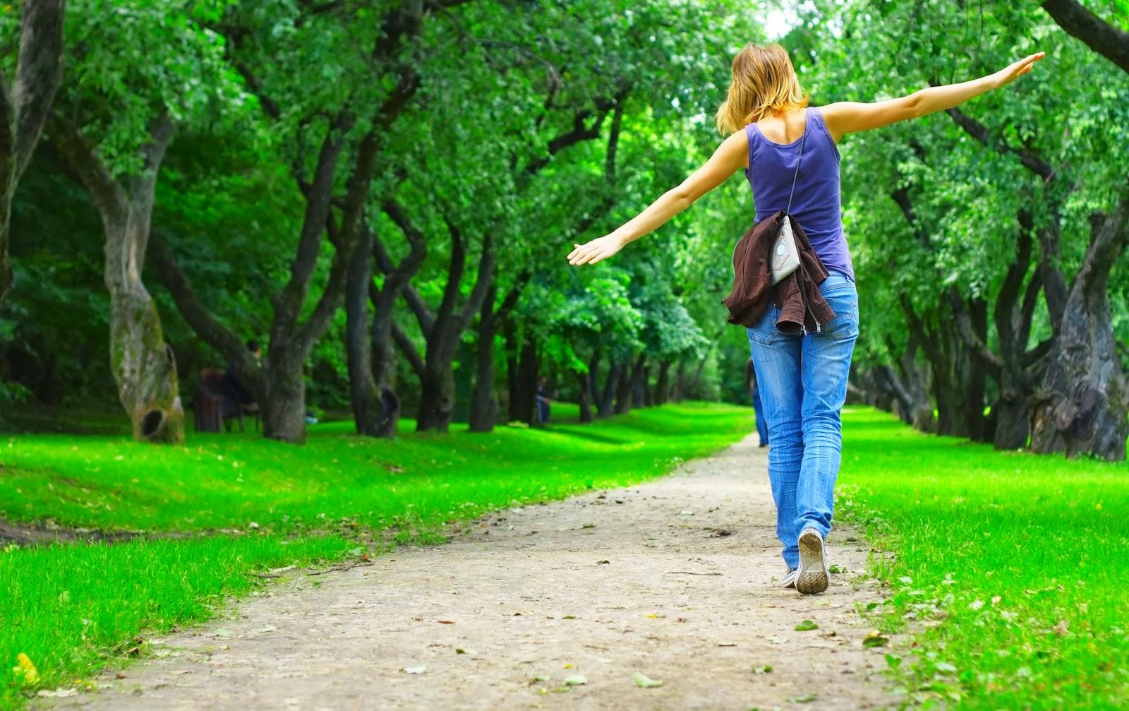 Как сделать прогулки пешком предельно полезными?