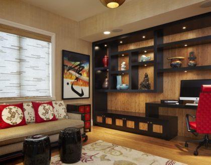 Бамбук в интерьере – уютно и стильно