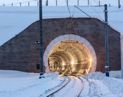 Как делают сканирование жд тоннелей
