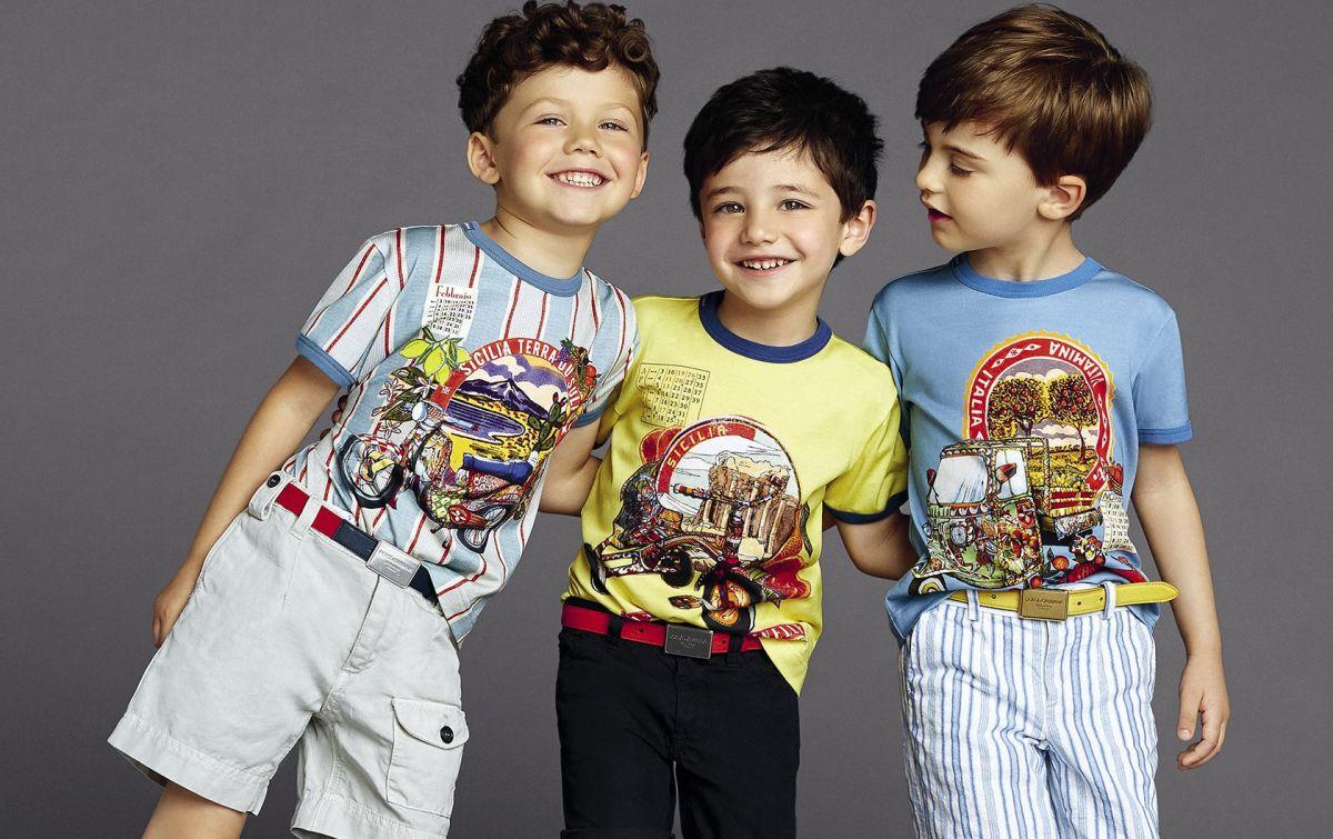 Модные футболки для детей